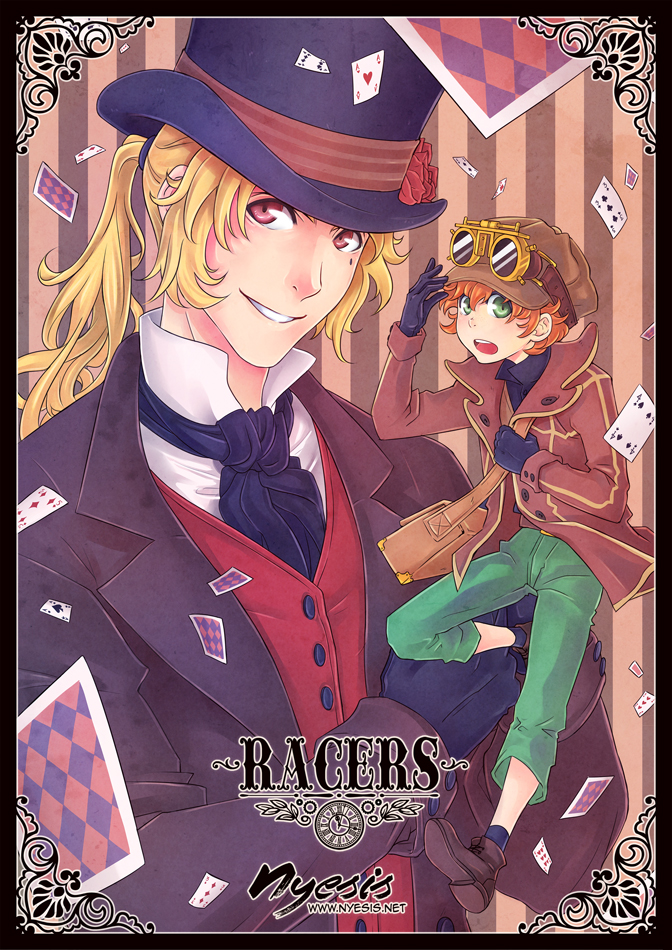 + Racers N.1 Cover + by SaraFabrizi