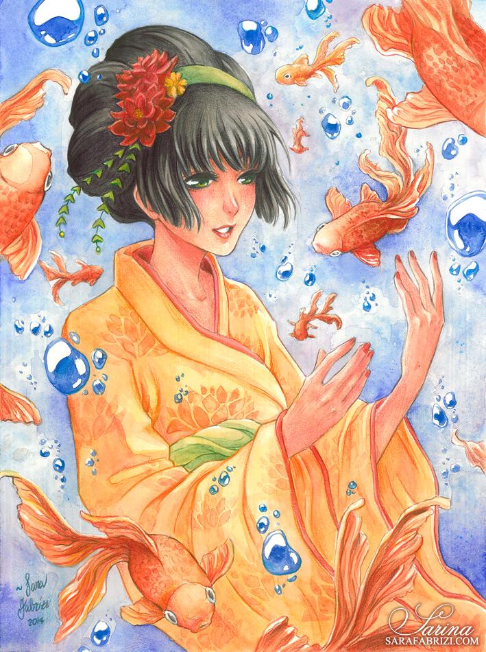 + Goldfish + by SaraFabrizi
