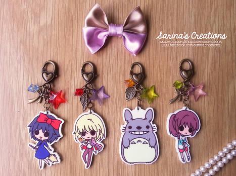 GHIBLI Accessories (Kiki, Totoro, Chihiro, Howl)