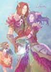 + COMMISSION: Iasonas and Tharasia +