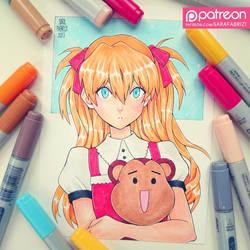 + Little Asuka + by SaraFabrizi