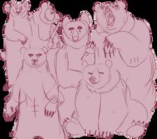 bears ???? ? by plantgay