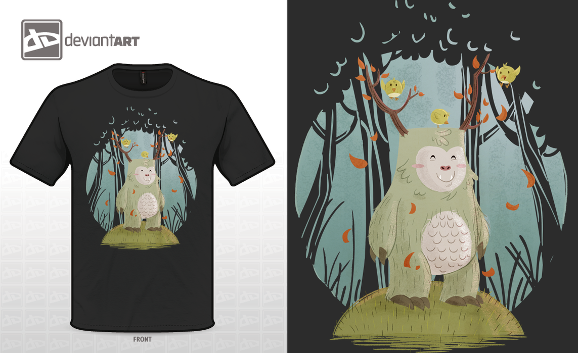 Cute monster contest t-shirt 1 by Diaff