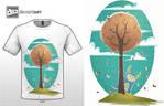 Cute monster contest t-shirt 2