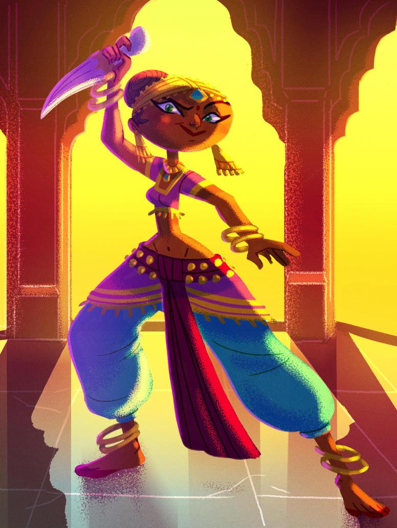 IndianDancer by Diaff