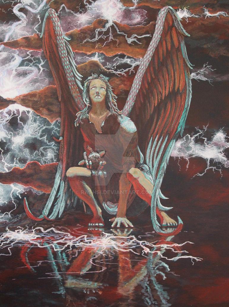 Defending Angel by Rathsi