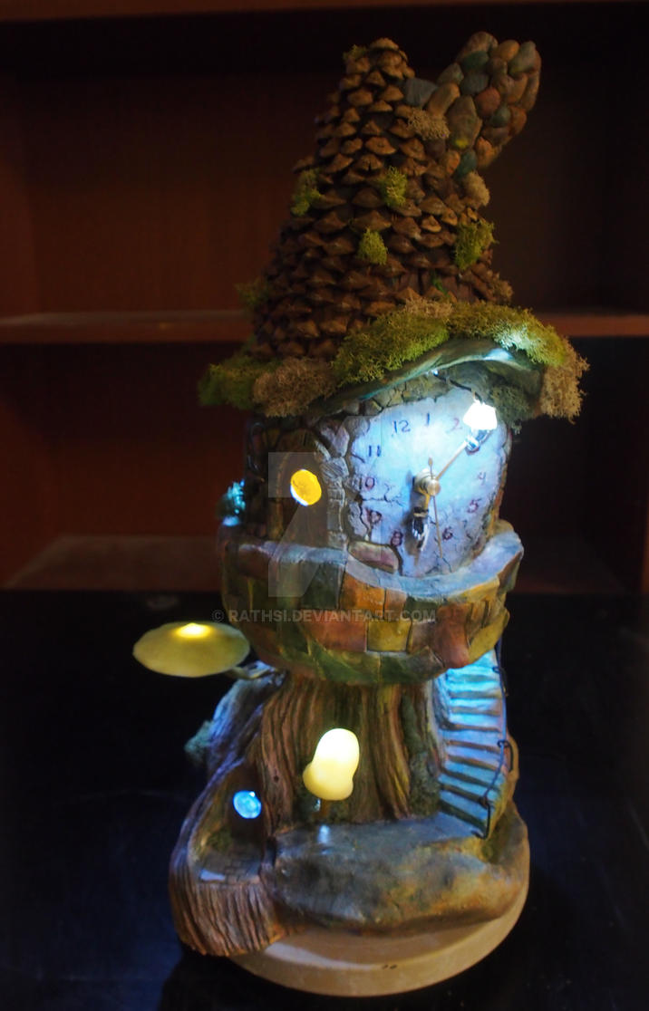 Gnome Clock by Rathsi
