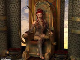 Elven Queen by faegatekeeper