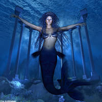 Queen of Atlantis by faegatekeeper