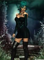 Sensual Night by faegatekeeper