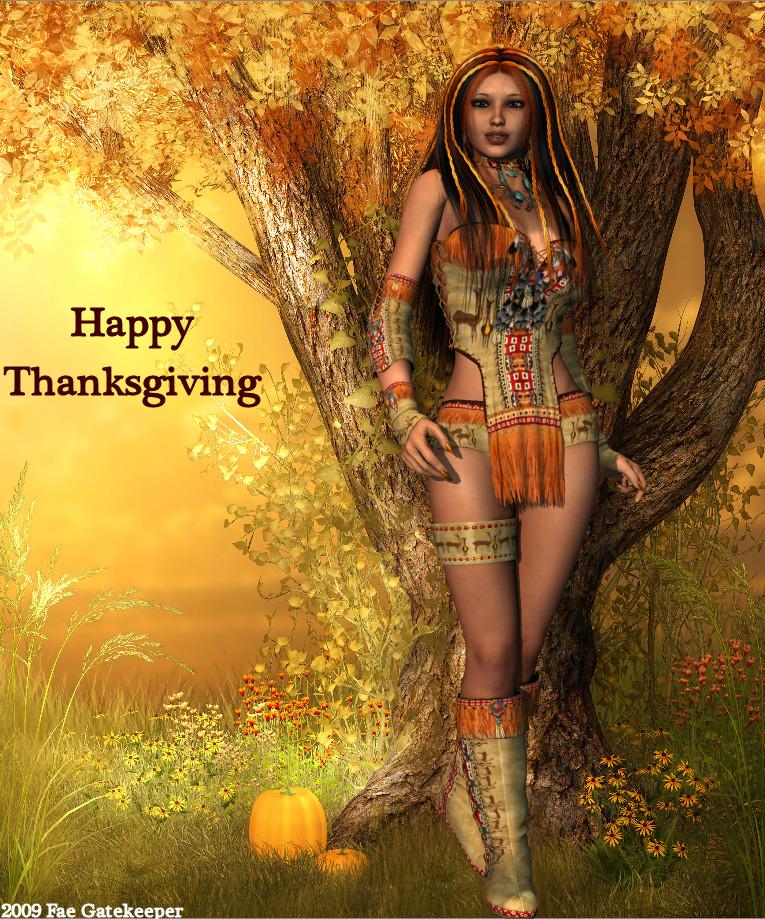 Happy Thanksgiving by faegatekeeper