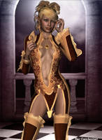 Golden Elf by faegatekeeper