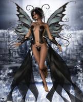 Fairy of Darkness by faegatekeeper