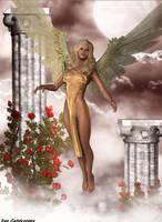 Golden Angel by faegatekeeper