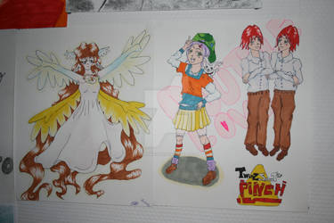 Angel and random drawing