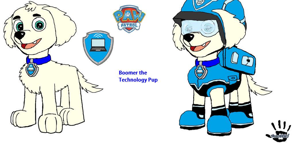 Boomer The Technology Pup FINAL UPDATE