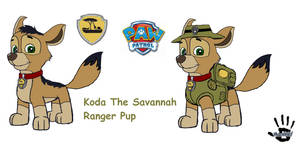 Koda The Savannah Ranger Pup