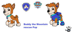 Buddy the Mountain Rescue Pup for MarioHernandezDA