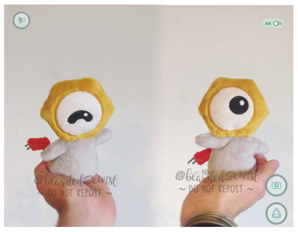 0dc6c00e118c8 Pokemon Go! #808 Meltan Custom Plush by TheBeardedSewist on DeviantArt