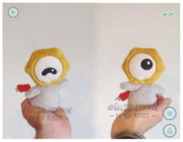 Pokemon Go! #808 Meltan Custom Plush by TheBeardedSewist