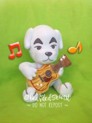 KK Slider Plush Animal Crossing New Leaf by TheBeardedSewist