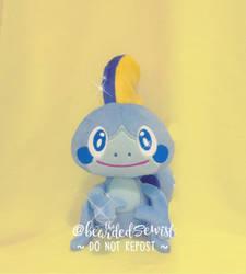 Pokemon Sword Shield Sobble Custom Plush Gen 8 by TheBeardedSewist