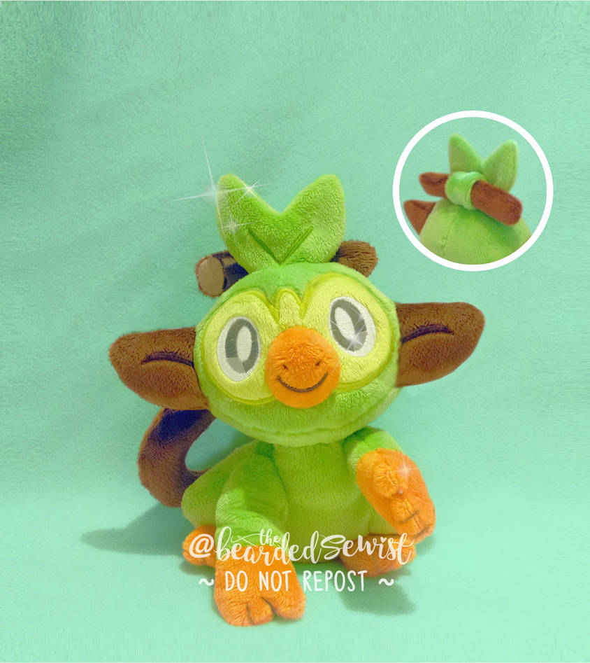 Pokemon Sword Shield Custom Grookey Plush Gen 8 By Thebeardedsewist On Deviantart Grooky is a water type pokémon and is a starter pokémon for trainers in pokémon sword and shield! pokemon sword shield custom grookey