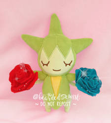 Custom Life Size Pokemon Roselia Plush by TheBeardedSewist