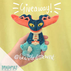 DRAGAPULT POKEMON PLUSH GIVEAWAY!