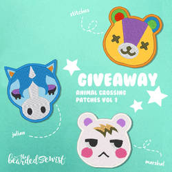Giveaway! Animal Crossing Patches