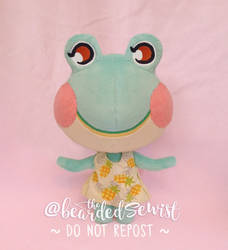 Animal Crossing New Horizons Lily Plush