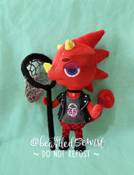 Animal Crossing New Horizons Flick Plush