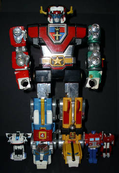 Voltron And Autobots