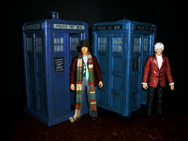 Doctor Who - 3rd and 4th Doctors