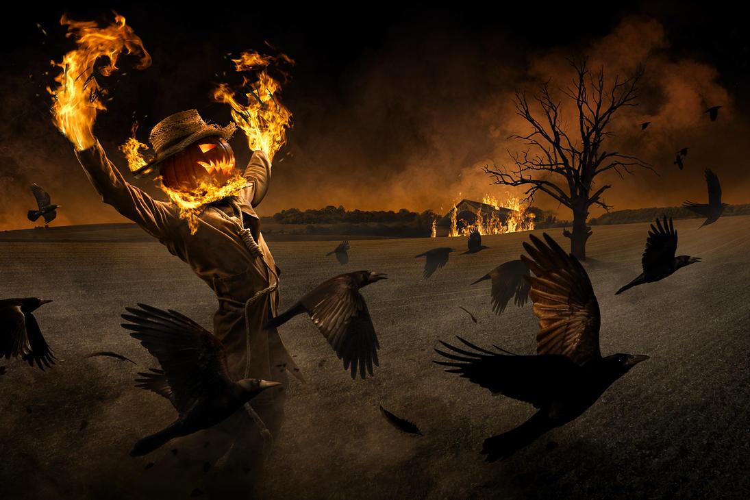 Jack-o'-Scarecrow by gyaban