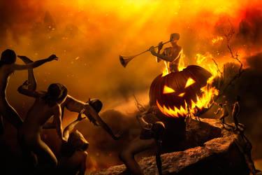 Halloween in Hamelin by gyaban