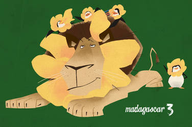 Madagascar3 by knknknk
