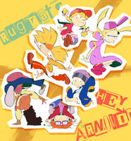 Rugrats x HEY ARNOLD!