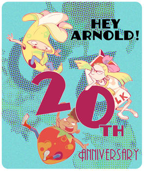 20th anniversary Hey Arnold!