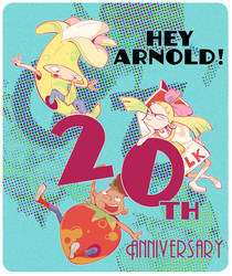 20th anniversary Hey Arnold!