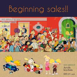 Notification of sales start