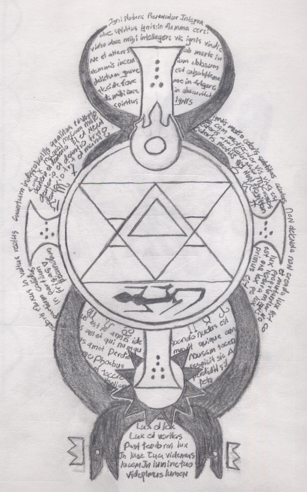 Transmutation Circle Tattoo: My Transmutation Circle By Kakurenbo401k On DeviantArt