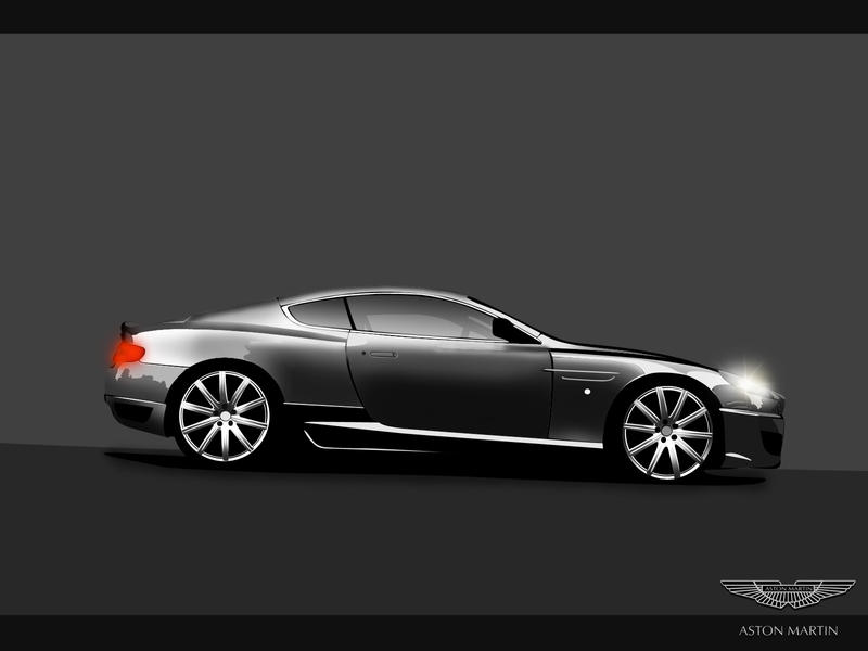 Aston MartinDB9 Project Khan 1 by Dap1987