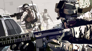 battlefield 3 US infantry