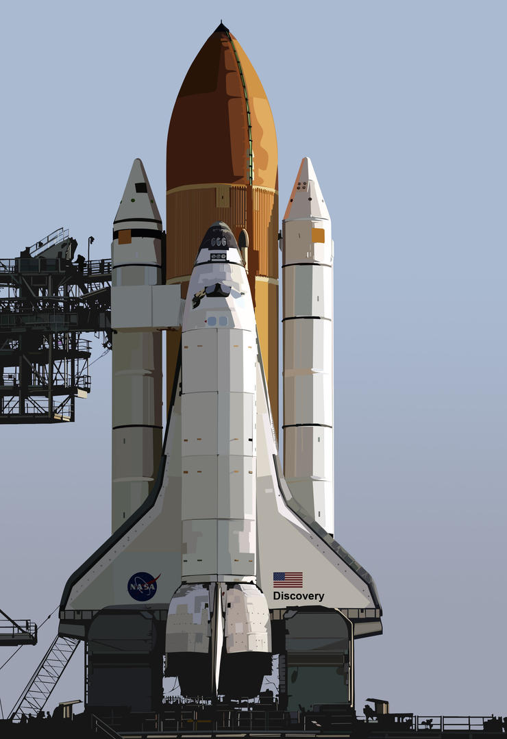 where did the space shuttle discovery go - photo #27