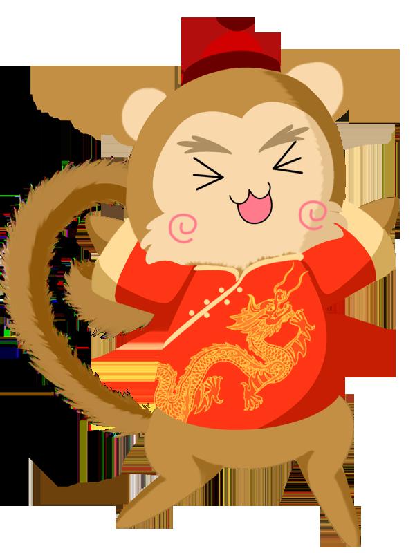 chinese new year monkey by eclispeflower - Chinese New Year Of The Monkey
