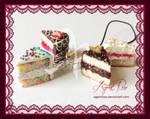 Polymer Clay White Cake Assortment