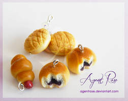 Clay Asian Bakery Buns by AgentRose