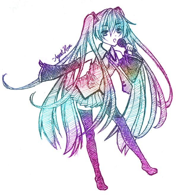 Miku: Sing by AgentRose