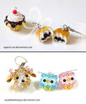 Ice Cream Cupcake Charm + Red Bean Buns Trade